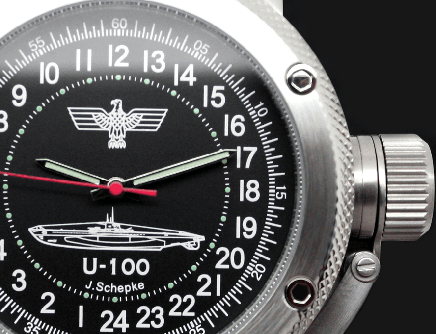 24-Hours Mechanical Watch – Submarine U-100
