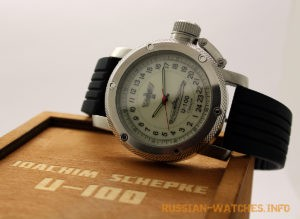 russian24-hours watch german submarine u-100