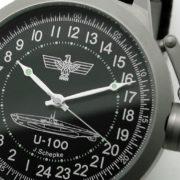 Russian 24-hour mechanical watch Submarine U-100