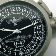 Russian 24-hour mechanical watch Submarine U-47