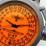 Russian 24-hour mechanical watch Submarine U-47