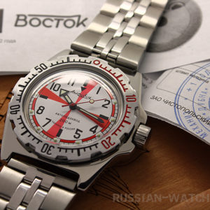 russian automatic watch vostok amphibian 110750
