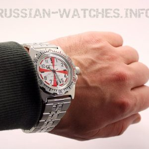 Russian automatic diver watch VOSTOK AMPHIBIAN Radio Room 2415 / 110750