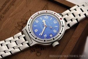 russian watch Vostok Amphibian 420007