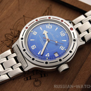 russian watch Vostok Amphibian 420007