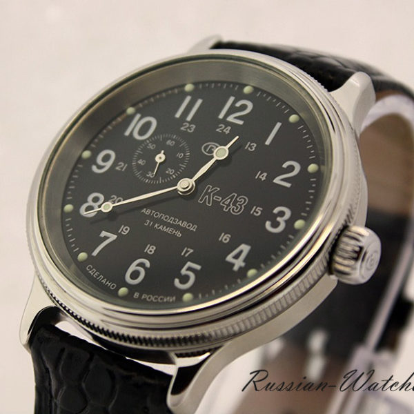 Russian automatic watch VOSTOK K-43 2415 / 540854