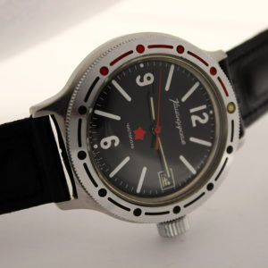 Russian Watch VOSTOK Komandirskie Chistopol Amphibia Red Star