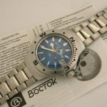 russian automatic diver watch vostok amphibian 060059 scuba dude