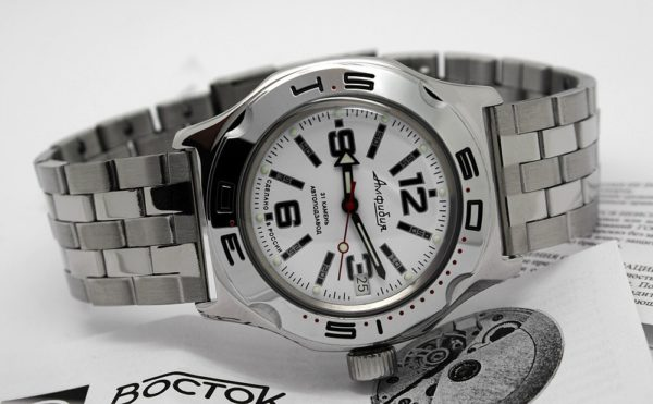 Russian automatic watch VOSTOK AMPHIBIAN 2416 / 100485