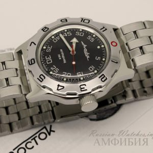 vostok amphibian russian watch 2415.01 / 100654