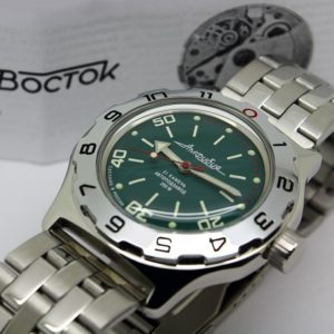 Russian automatic watch VOSTOK AMPHIBIAN 2415.01 / 100821