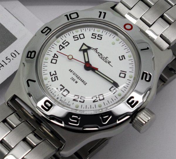 Russian automatic watch VOSTOK AMPHIBIAN 2415.01 / 100825