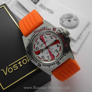 russian watch vostok amphibian diver radio room 110750