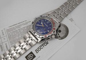 vostok amphibian watch 2416 / 110908