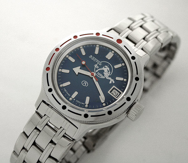 Russian automatic watch VOSTOK AMPHIBIAN 2416 / 420059