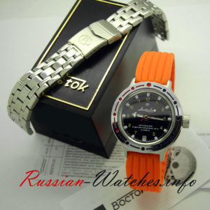 vostok amphibian automatic diver watch 420270