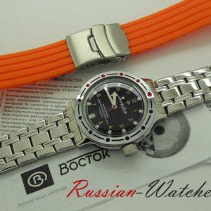 Vostok Amphibia, 2416 / 420270 silicone