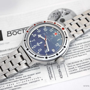 russian submarine vostok automatic diver watch 420289