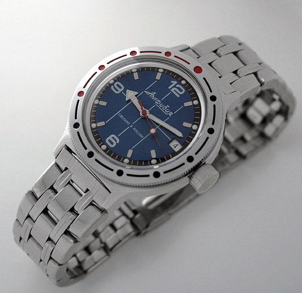 Russian automatic watch VOSTOK AMPHIBIAN 2416 / 420331