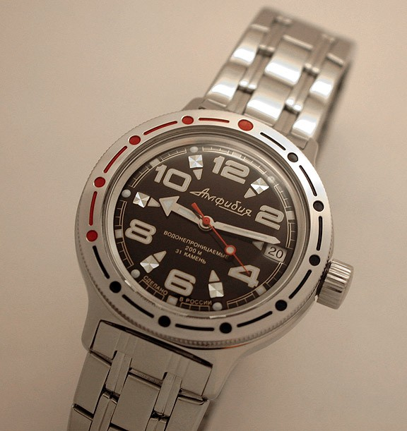 Russian automatic watch VOSTOK AMPHIBIAN 2416 / 420335