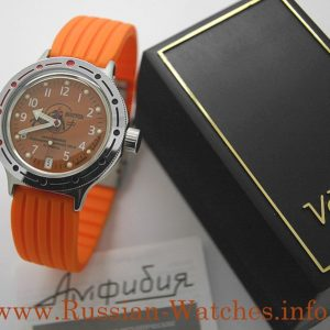 vostok scuba dude amphibian russian diver watch 420378