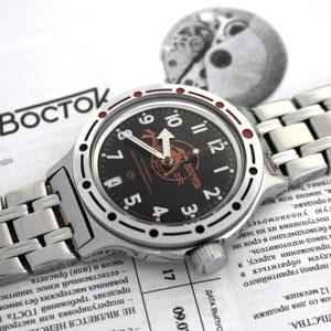 Vostok Amphibian 2416 / 420380 Scuba Dude Diver