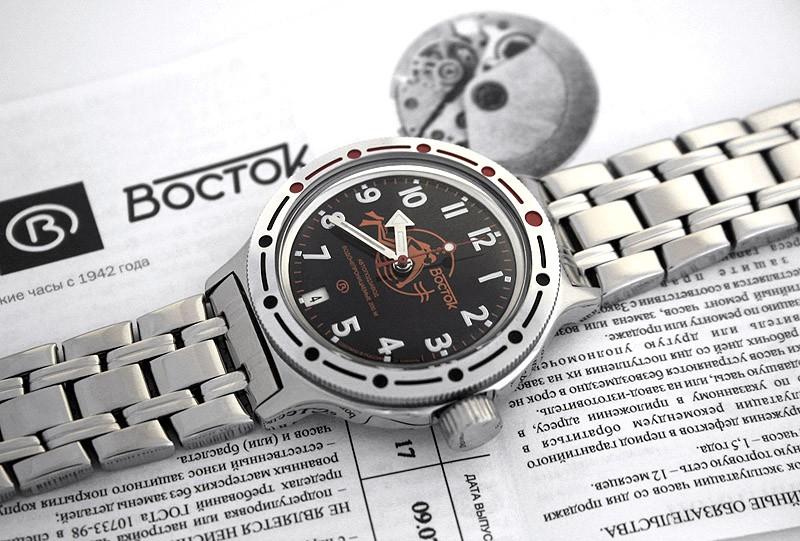 Russian automatic watch VOSTOK AMPHIBIAN 2416 / 420380
