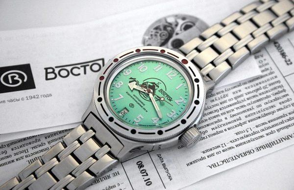 Vostok Amphibian 2416 / 420386 Scuba Dude Diver