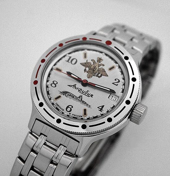 Russian automatic watch VOSTOK AMPHIBIAN 2416 / 420392