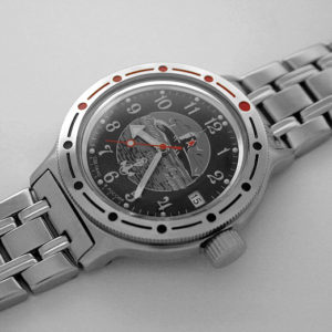 vostok amphibian russian automatic diver watch submarine 420831
