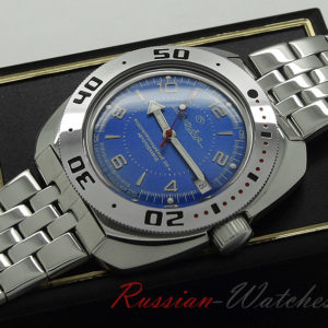 vostok amphibian 710007 russian automatic diver watch