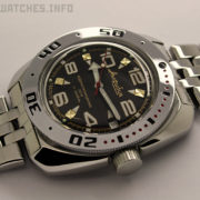 russian watch vostok amphibian automatic diver watch 710335