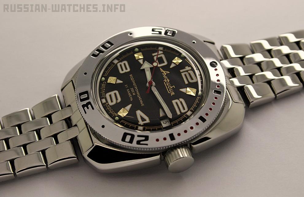 Russian automatic watch VOSTOK AMPHIBIAN 2416 / 710335