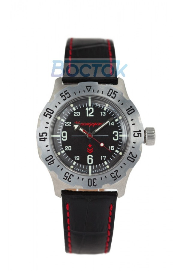 Vostok Komandirskie K-35 Russian Automatic Watch 2415.01 / 350515