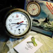 vostok ship clock submarine typhoon