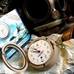 Russian Vostok Ship Marine 8-Days Clock 5-CHM Submarine Typhoon
