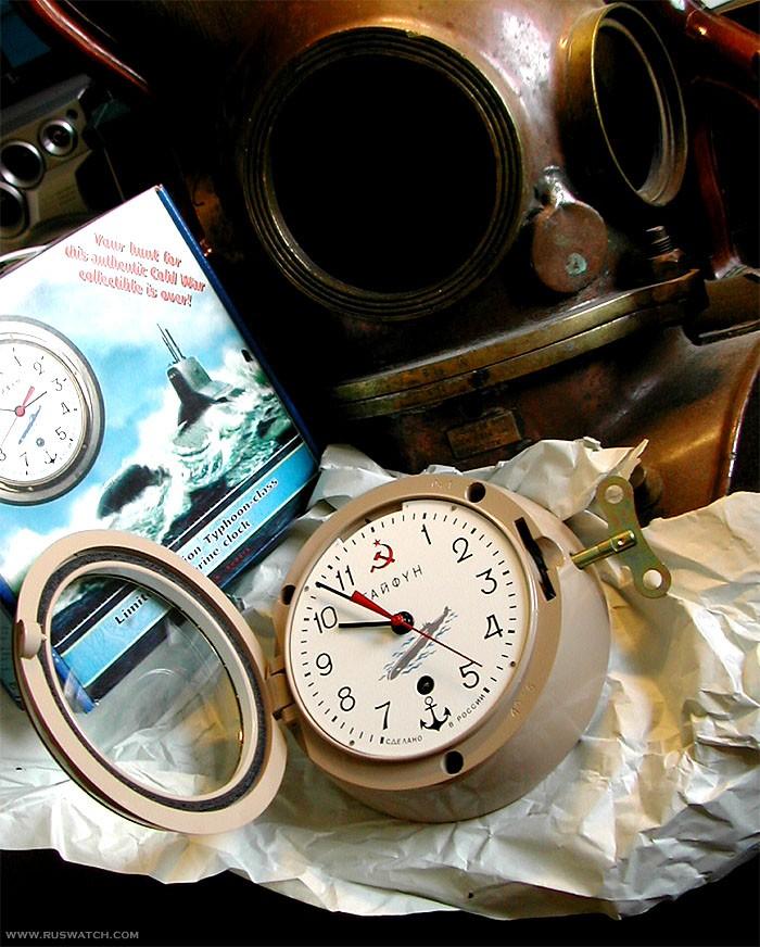 vostok_ship_clock_5-chm_submarine_typhoon2