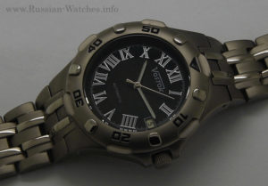 russian watch vostok titanium automatic