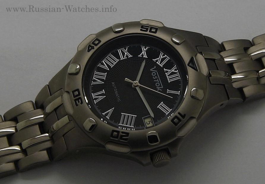 Russian automatic watch VOSTOK TITANIUM 2416 / 079281