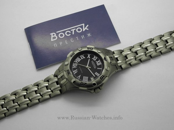 Vostok Titanium Russian automatic watch 2416 / 079281