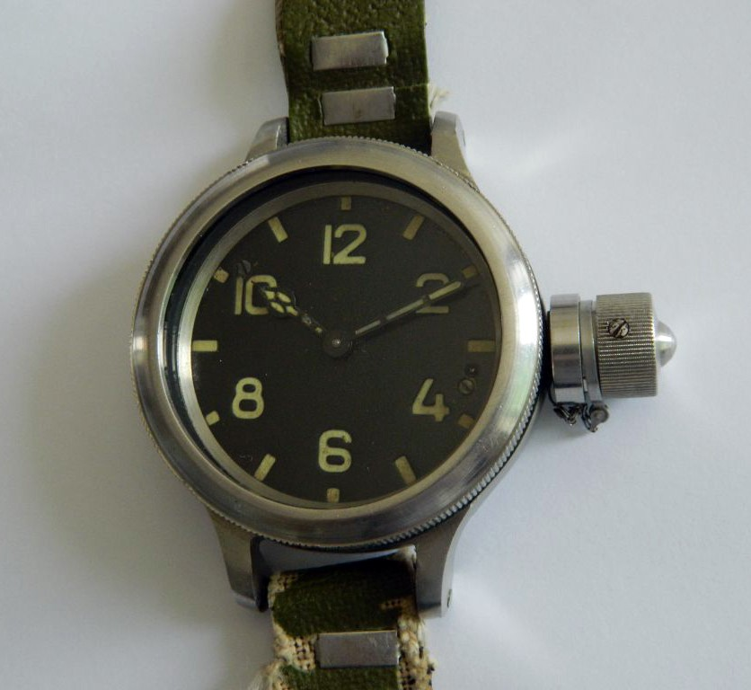 Russian Watch Zlatoust Diver 191 ChS USSR 1960s
