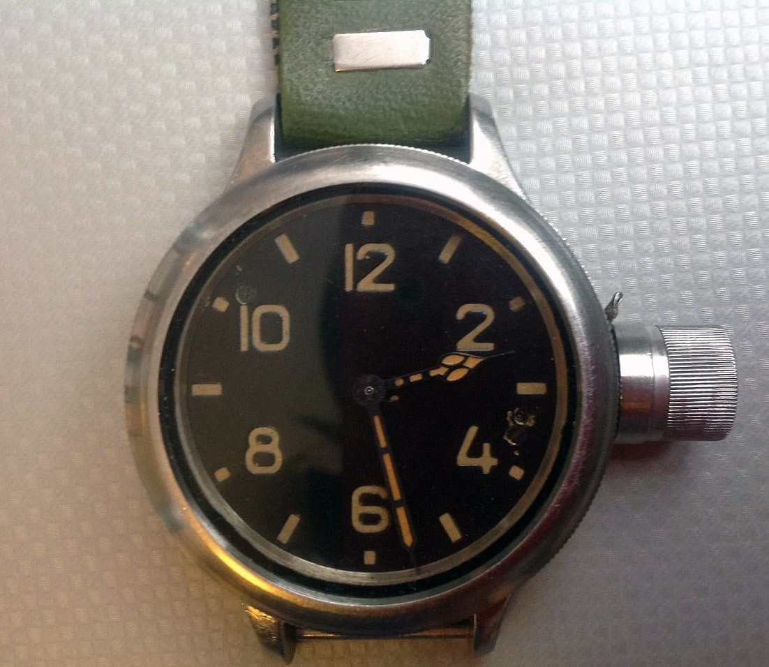 Russian Watch Zlatoust Diver 191 ChS USSR 1970s