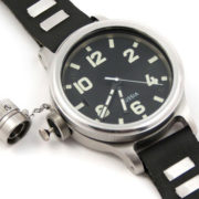 ZLATOUST Vodolaz Diver 193-ChS watch with left-handed crown