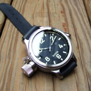 ZLATOUST Vodolaz Diver 193 ChS watch with left-handed crown