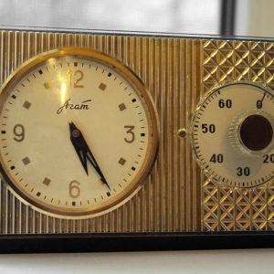 Zlatoust & Molnija, Russian Clock, 60-Minute Timer USSR 1965