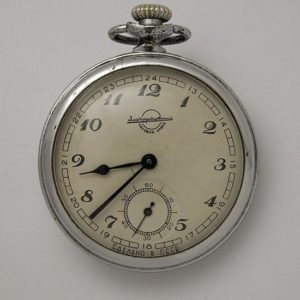 Soviet mechanical pocket watch Zlatoust USSR 1958