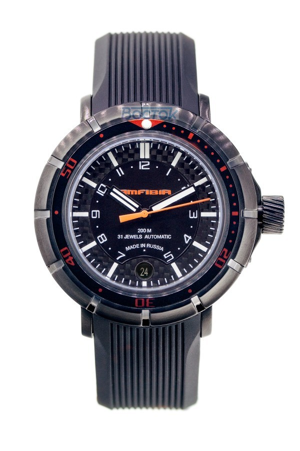 Vostok Amfibia Turbina Russian Automatic Watch 2416 / 236602 A