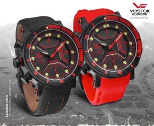 Vostok-Europe Lunokhod 2 Multi-Function Quartz Diver Watch TM3603 / 6204204