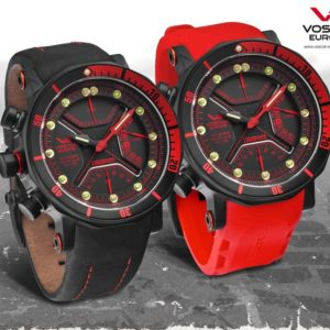 Vostok-Europe Lunokhod 2 Multi-Function Quartz Diver Watch TM3603 / 6204204