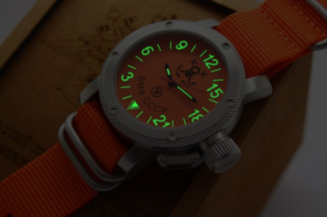 Russian Watch with 24-Hour Dial – Automatic – Russian Navy Diver 47 mm